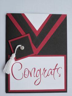 Graduation Cards Handmade, Graduation Diy, Handmade Birthday Cards, Congratulations Card Graduation, Graduation Greetings, Cricut Cards, Stampin Up Cards, Card Making Inspiration, Making Ideas
