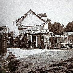 La ferme Debray entre rue Girardon et rue Norvins
