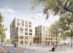 Realisierungswettbewerb Bauquartier MK 3 am Bauhausplatz München • PALAIS MAI