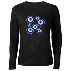 """the """"evil eye"""" shirt...covering all the bases!"""