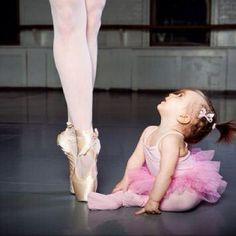Adorable! I miss dance so much. I can't wait to have a little girl one day    and she can be a ballerina like her mom :)