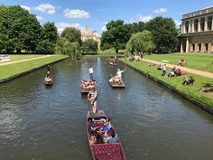 How to go punting in Cambridge - and look good doing it!