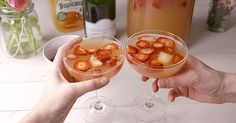 You Should Be Making Mimosa Sangria For Every Party This Spring