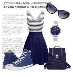 """""""Summer dress"""" by jasmine077 ❤ liked on Polyvore featuring Proenza Schouler, Converse, Nine West and Emilio Pucci"""