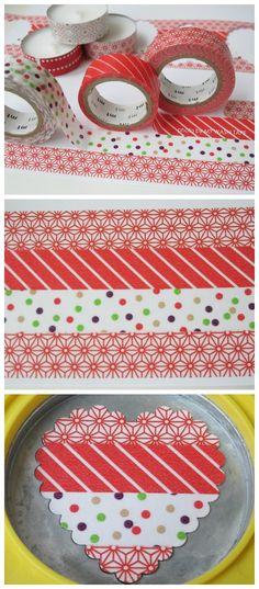 My Washi Tape: DIY | Ghirlanda di Cuori