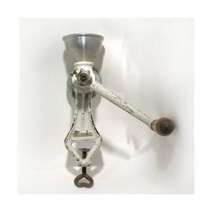 Vintage Cast Iron Poppy Seed Grinder  Monka Made by OnlyCoolStuff, $62.00