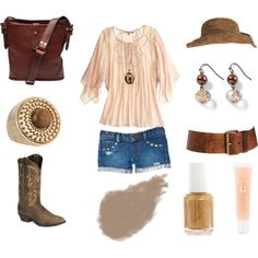 My Country Summer, created by vballphil on Polyvore