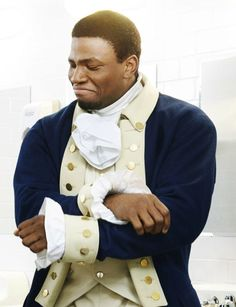 I'm Hercules Mulligan! I was a spy in the Revolutionary war, because I was sick of being a tailor's apprentice. My best friends were John Laurens, Alexander Hamilton, and Lafayette. I hear the gang's all back in town, so, yo, reunion!  ((Got bored af XD))