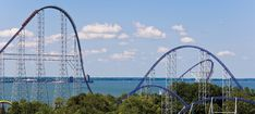 Tallest Roller Coasters in the World - 2018 List  #tallestrollercoasters #top10 https://gazettereview.com/2018/03/tallest-roller-coasters-in-world/ Fastest Roller Coaster, Crazy Roller Coaster, Scary Roller Coasters, Sandusky Ohio, Vacation Spots, Dream Vacations, Cedar Point Ohio, Best Amusement Parks, Admission Ticket