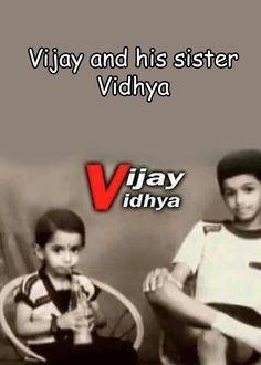 Actor Vijay childhood photo with sister Vidhya     http://tamilcinema.tamilcineworld.com/news/actor-vijay-childhood-photo-with-sister-vidhya/