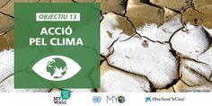 Acció pel clima: objectiu nº 13 de desenvolupament sostenible (ODS).