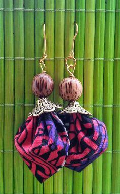 """Boucles d'Oreilles Originales """" Purple Wax 2"""" : Boucles d'oreille par tidi-wax"""