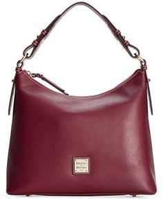 Dooney & Bourke Saffiano Hobo - All Handbags - Handbags & Accessories - Macy's