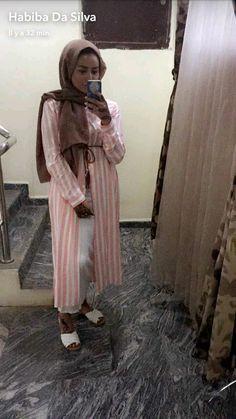 Habiba Da Silva hijab style Modest Outfits, Modest Fashion, Hijab Fashion, Turban Outfit, Hijab Outfit, Habiba Da Silva, Hijab Trends, Hijab Styles, Abayas