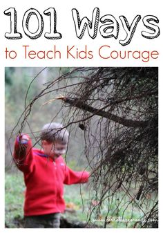 How do you speak to young kids about Memorial Day? This post includes 101 ways to teach kids about courage.