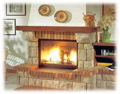 Cozy Fireplace, Modern Fireplace, Bbq Grill, Hearth, Home Projects, New Homes, Lounge, My House, Living Room
