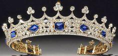 Tiara Mania: Queen Victoria of the United Kingdom's Sapphire & Diamond Coronet