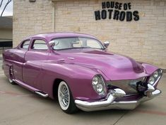 1949 Mercury aka Pinky from House of hotrods in mansfield Texas