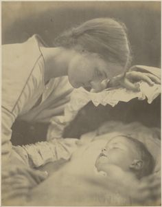 The First Born by Julia Margaret Cameron, 1865.