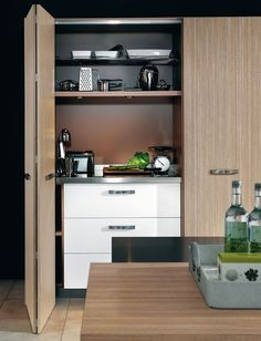 1000 images about i bozel kitchen on pinterest kitchen designs italian ki - Cuisine dans un placard ...
