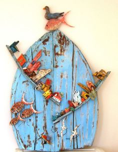 The fish and the bird - panel - Tony Britnell | Meridian Art