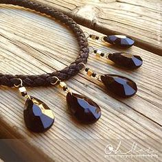 Necklace with Black Tears