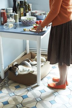16 house: DOGS & MASTERS...my dogs do this under my desk, in the kitchen..ANYWHERE I happen to be...sigh!
