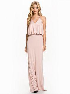 Solita Dress - Forever Unique - Nude - Festkjoler - Tøj - Kvinde - Nelly.com