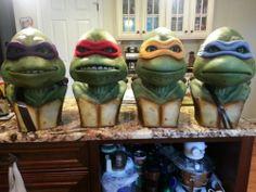 Custom Teenage Mutant Ninja Turtle Life Size Busts TMNT not Sideshow or NECA | eBay