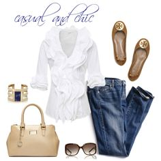 """Casually Chic"" by Coastal Style Blogspot"