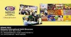 MIHAS 2013 Malaysia International Halal Showcase 말레이시아 할랄 제품 박람회