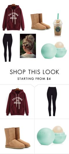"""""""Basic White Girl #2"""" by fashionista-dxliv on Polyvore featuring UGG Australia, Eos, women's clothing, women, female, woman, misses, juniors and whitegirl"""