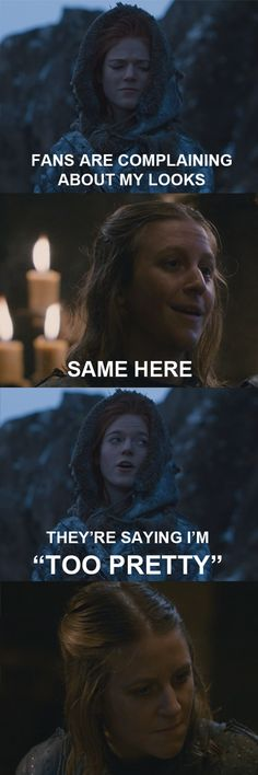Ygritte & Asha Greyjoy x)  #GameofThrones #Ygritte  I think Asha /Yara is perfect for the role.