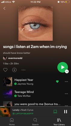 Music Mood, Mood Songs, Indie Music, Music Jam, Music Sing, Good Playlists, Playlist Names Ideas, Depressing Songs, Music Recommendations