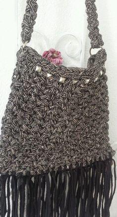 Tasche aus Stoffgarn KS Stil Tasche in Garne & Strickwolle | eBay