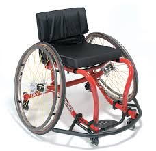 Wheelchairs that are used for wheelchair sports are extremely expensive.  Wheelchairs used for sports are much lighter than everyday wheelchairs.  They also have a seat dump and wheel camber which make the wheelchair faster and safer for athletics.