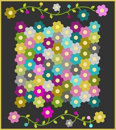 Hexy quilt along {lilly belle quilt a long by ImAGingerMonkey, via Flickr}