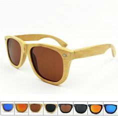 a9231c40688f Fashion New Brand Bamboo Sunglasses Women Men Polarized Sunglasses Popular  Outdoor Sprot Style Sun Glasses Wooden Frame Glasses-in Sunglasses from  Men's ...