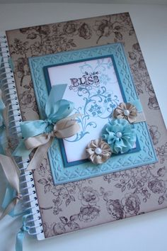 Cute to alter a notebook or journal