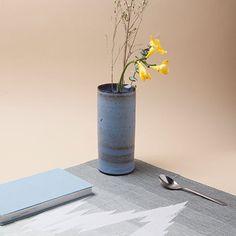 Ø 7 cm Vase - Blue - alt_image_three Vase, Kitchen Accessories, Interior, Design, Home Decor, Blue, Kitchen Fixtures, Decoration Home, Indoor