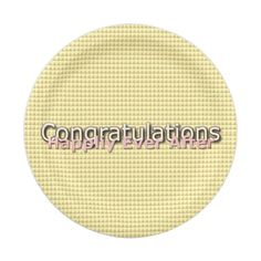 Magic-Wedding-Abstract-Gold-Multi-Sz Paper Plate  sc 1 st  Pinterest & Fun Prints