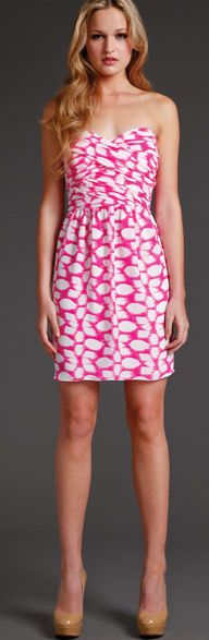 Great patterned dress by Shoshanna