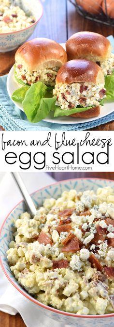 Bacon & Blue Cheese Egg Salad