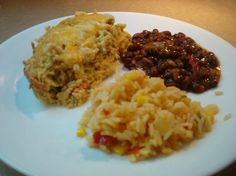 Lower Fat Chiles (Chiles) Rellenos Casserole from Food.com:   								You know the John Wayne Chile Relleno casserole? The rich, eggy, cheesy one that everyone always loves? Well - it's yummy but it's fattening! Here's a delicious lower fat variation that yields a similar casserole with no guilt! Utilizes reduced fat cheese, sour cream and egg substitute for pretty darn good results!