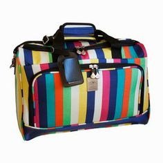Jenni Chan Duffel, I could travel with this! ~B