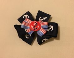 """Excited to share the latest addition to my #etsy shop: 4"""" Patriotic Hairbow"""