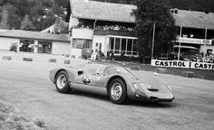 Preis von Tirol, Innsbruck 1966 Ben Pon (Porsche 906) © Erwin Jelinek / Technisches Museum Wien