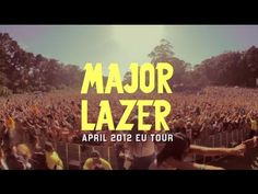 major lazer and amber from dirty projectors. this looks so fun but her singing is annoying