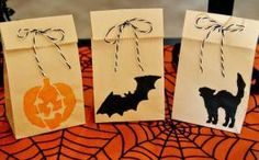 DIY Halloween Treat Bag : DIY Halloween Treat Bags for Kids