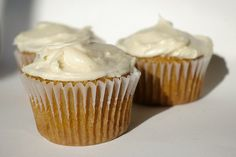 Pumpkin Cupcakes with Cream Cheese Icing | Patent & the Pantry